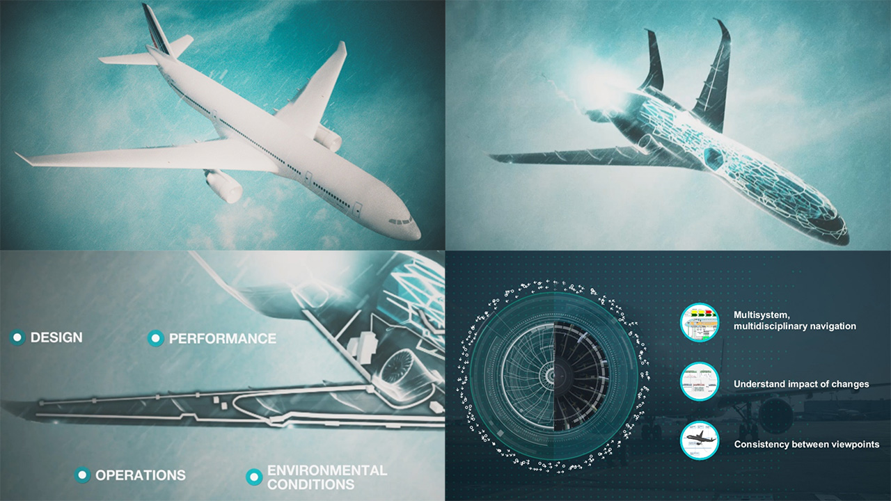 aerospace industry experts implementing digital twin technology