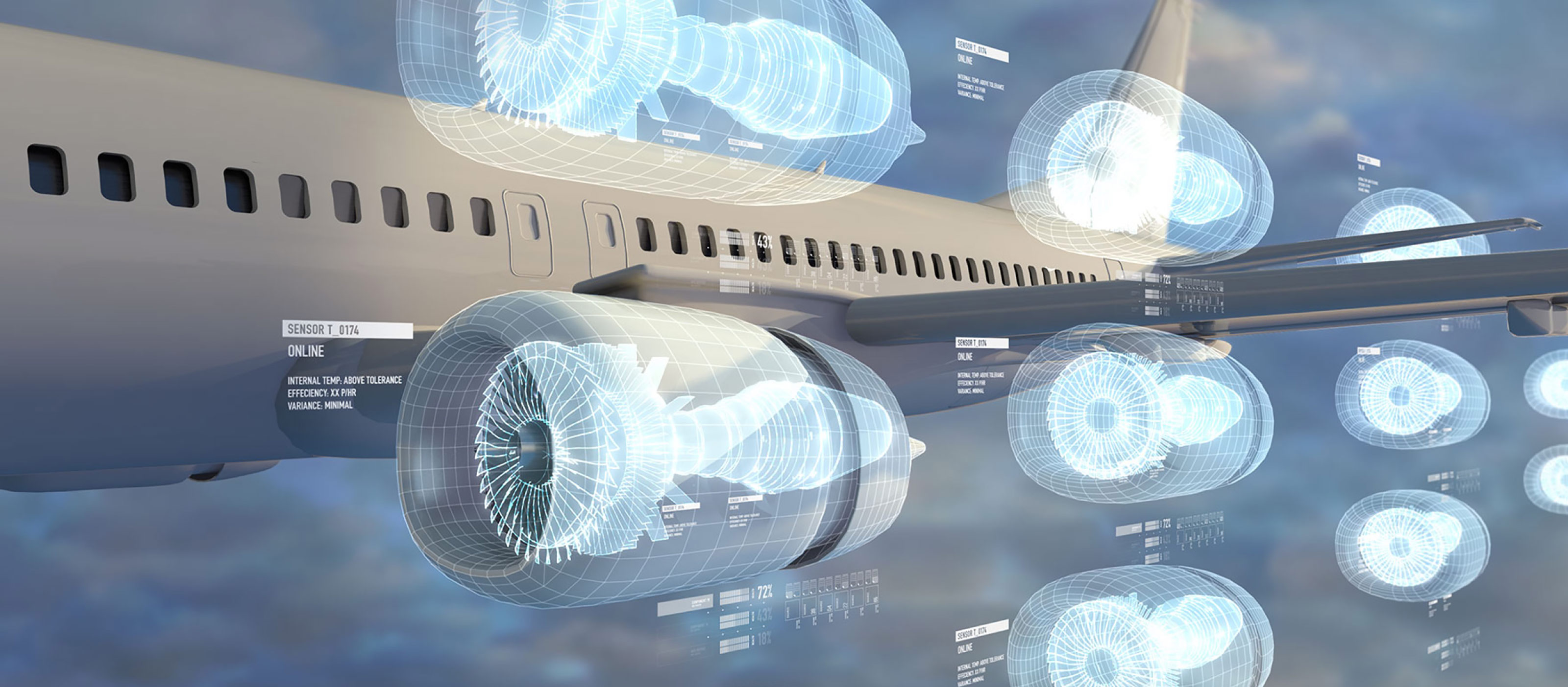 developing a digital twin from an aircraft