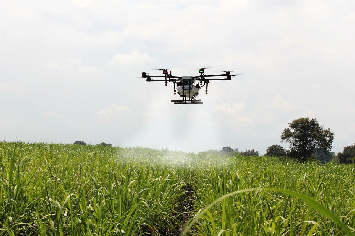 drones that monitor crop health