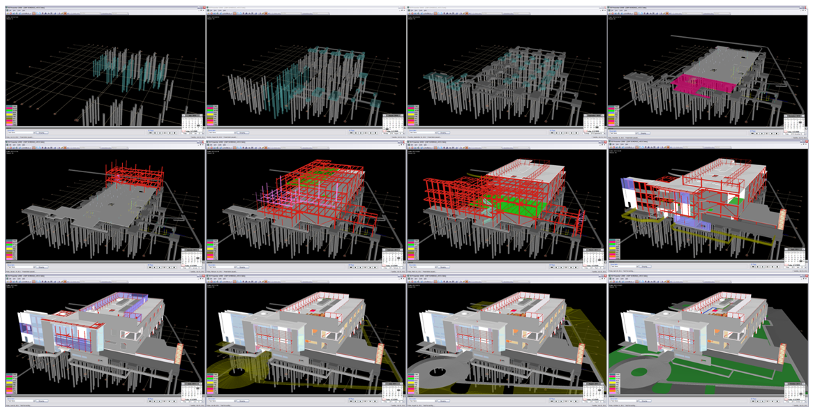 testing new architecture concepts using simulations