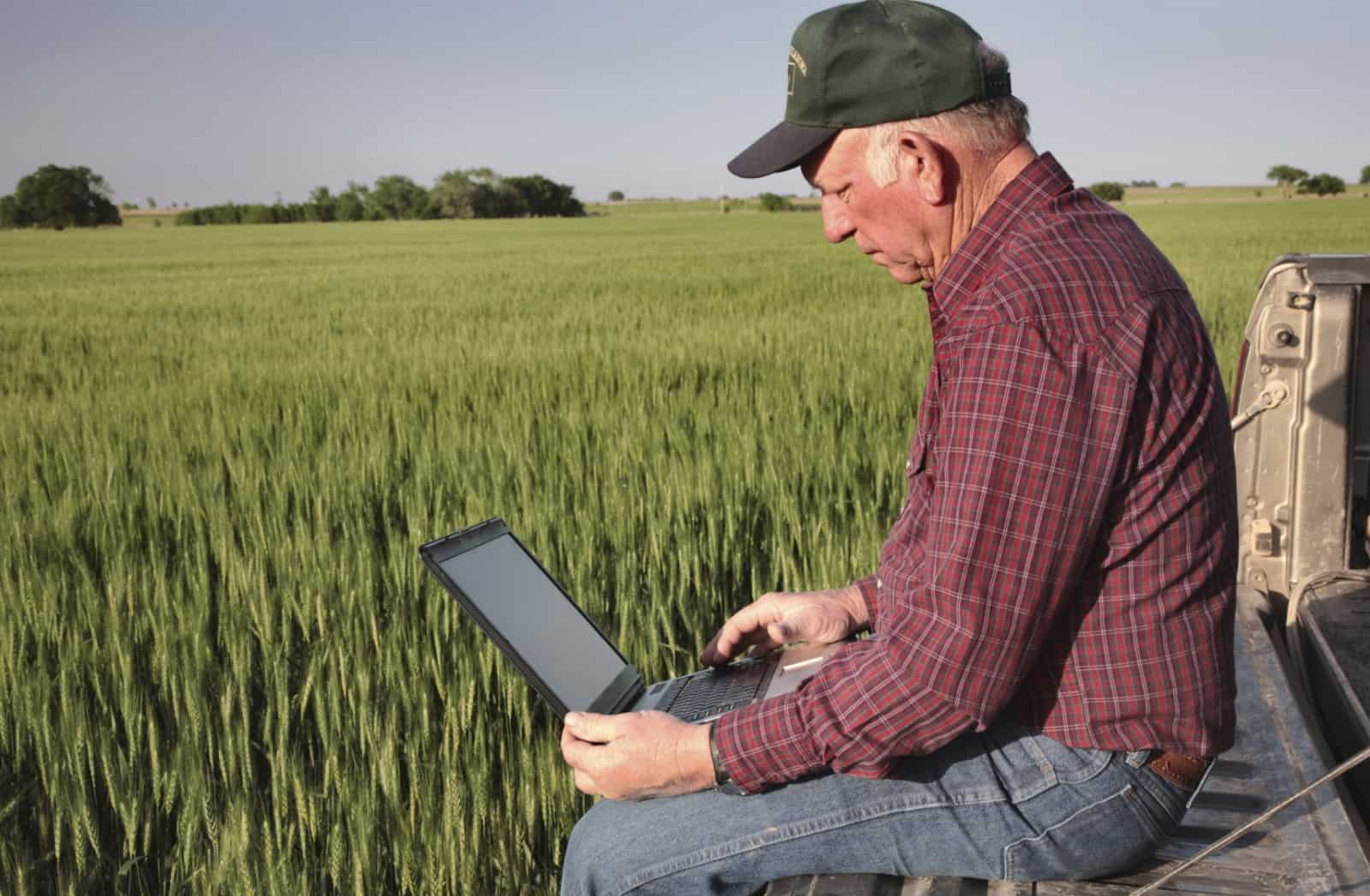 using precision agriculture technology to monitor plant health